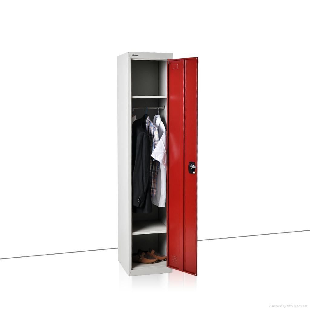 single steel locker 2