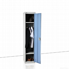 single steel locker