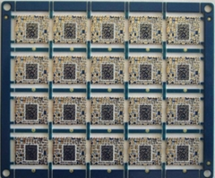 4 Layer Half-hole PCB For WiFi