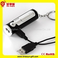 USB Lighter with Mini LED Torch