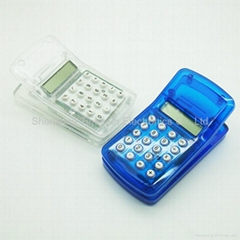 8 digit promotional mini calculator