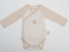 organic natural color cotton babywear