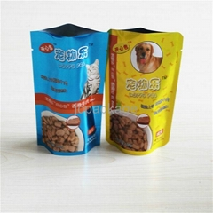 Best quality!100g standing pet food bag retort pouch