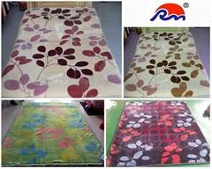 素色纯色100%涤纶毛毯