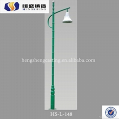 cast iron street yard post arena lamp post lights
