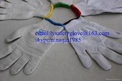 7 Gauge Cotton knitted  hand gloves