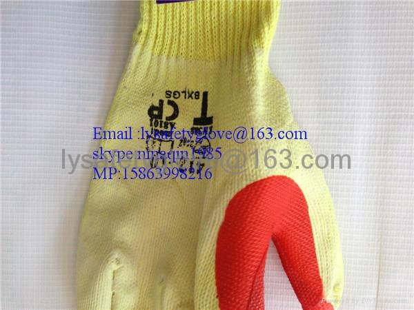RUBBER COATED HAND GLOVES  2
