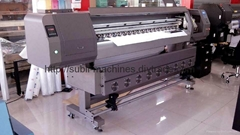 Large format tarpaulin banner eco solvent printer