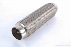 exhaust flexible braided pipe