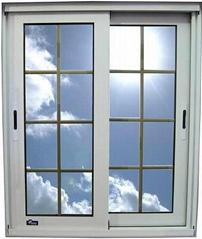 Aluminum Profile for Sliding Windows in Powder Coated