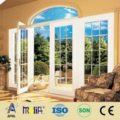 pvc casement windows with high quality