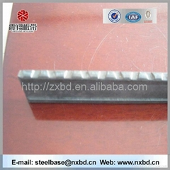 China high quality hot rolled mild carbon steel serrated flat bar