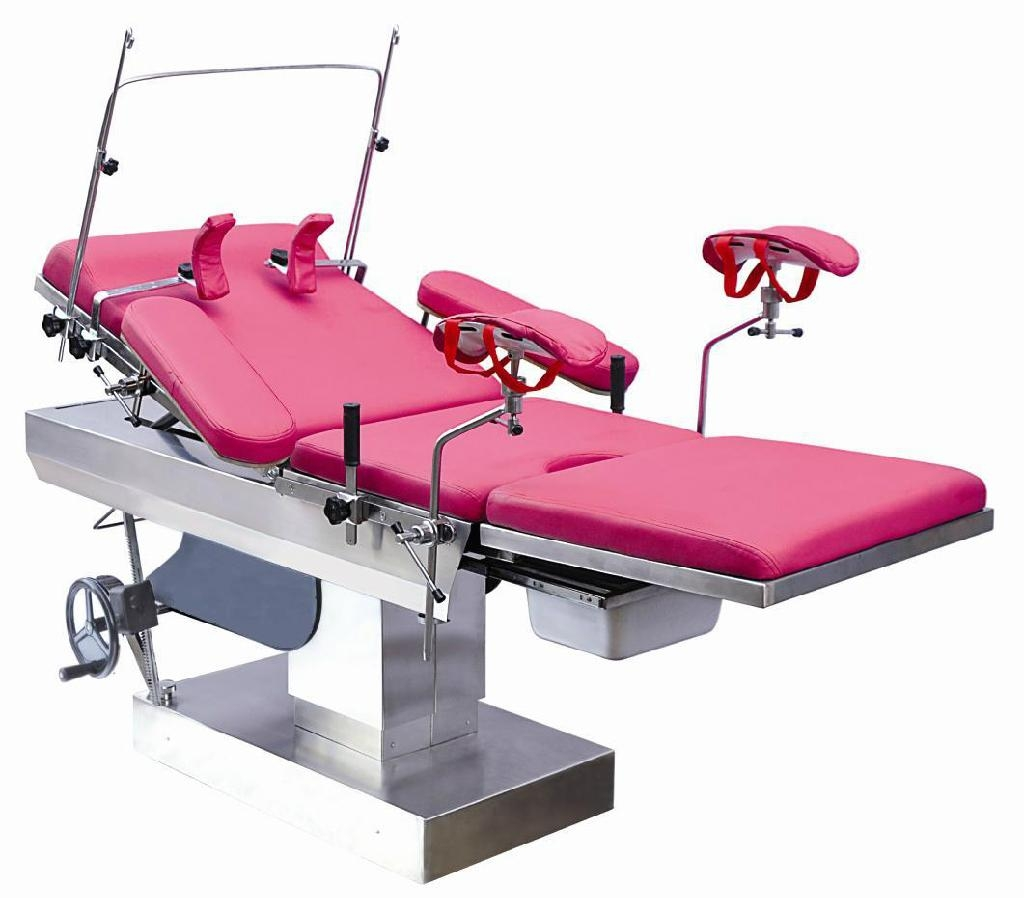Multi-purpose Obstetrics Delivery Bed Certified By