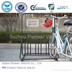 Bicycle Helmet Hanger Bicycle Parking Stand(ISO SGS TUV Approved)