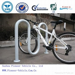 High Quality Floor Mounted Wave Bike Rack