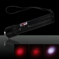 Cheap 3 in 1 100mW 650nm Red Laser Pointer Pen with 3AAA Battery