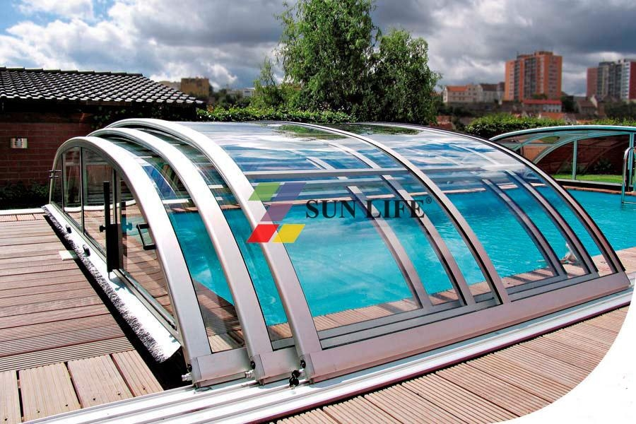 Hot Sales In 2014 Retractable Swimming Pool Cover