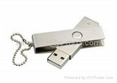 High Quality 1/2/4/8GB Metal Swivel USB, USB Flash Drive, USB Stick