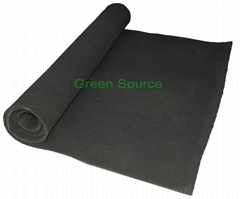 Activated carbon sponge