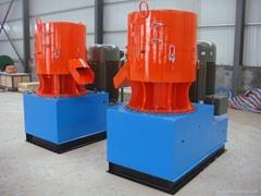 CE approved SKJ800 flat die wood pellet mill