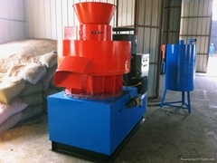 CE approved TY800 ring die wood pellet mill