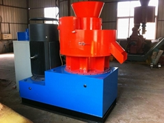 CE approved TY550 ring die wood pellet mill