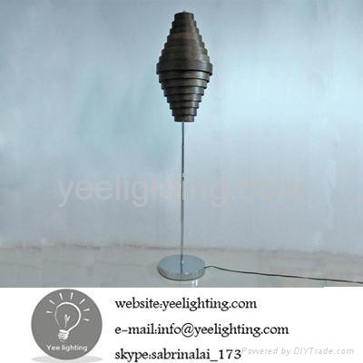 bamboo floor lamp rustic floor lamp e27 60w black fabrica de iluminacion 1