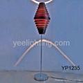 bamboo floor lamp rustic floor lamp e27 60w black fabrica de iluminacion 2