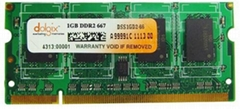 Dolgix Laptop DDR2 1 GB 667MHz PC2-6400 Memory Module