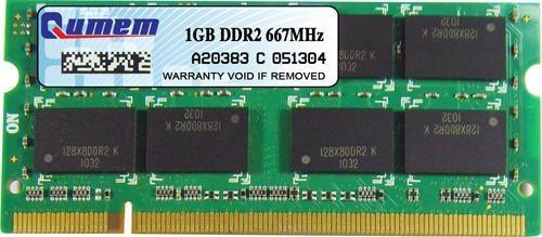 Qumem Laptop DDR2 1 GB 667MHz PC2-6400 Memory Module 1