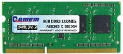 Qumem Laptop DDR3 8GB 1333MHz PC3-10600 Memory Module