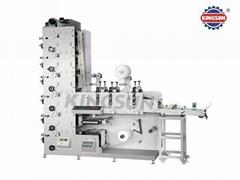 FP-320G/450G Flexo Printing Machine With Three Rotary Die-cutting Units
