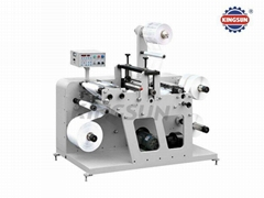 DK-320G Slitting Machine With Rotary Die Cutting Station