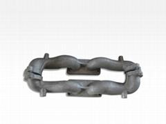 aluminum casting Exhaust Pipe