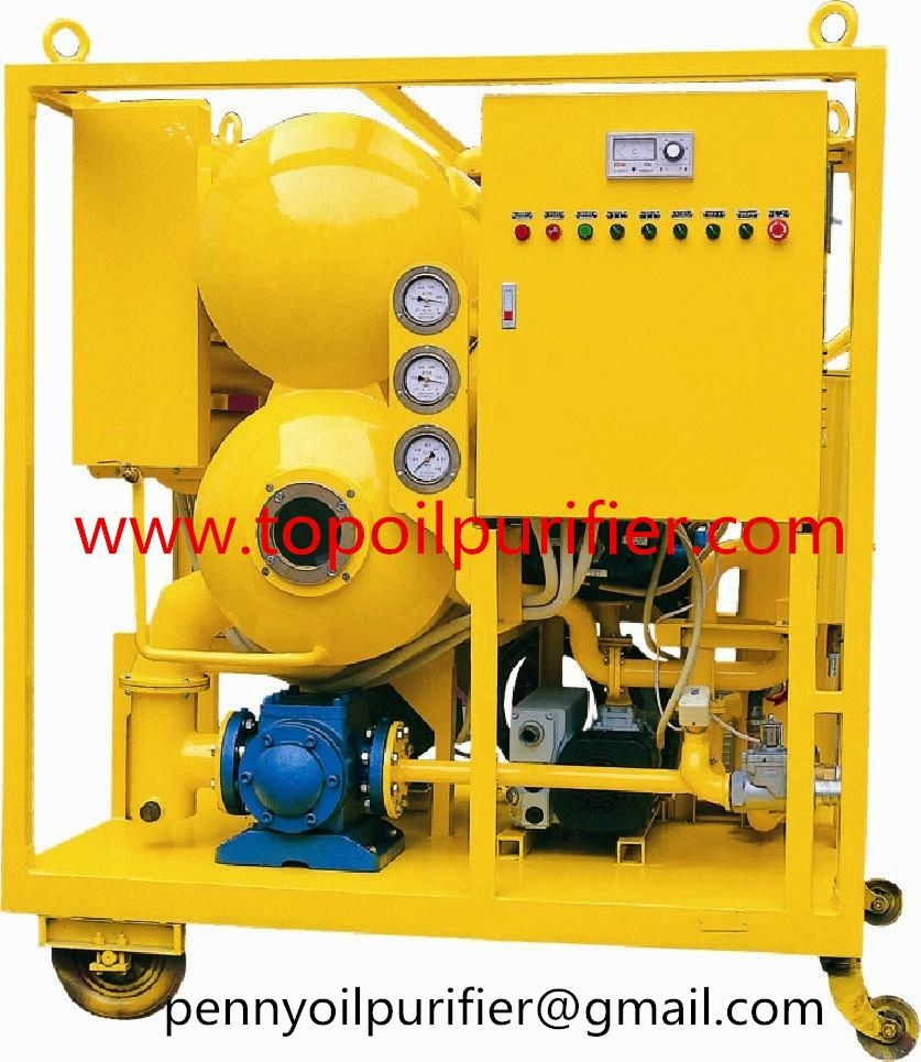 ZYD Series Double stage vacuum transformer oil purifier machine with CE,filterin 1