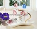 art gift coffee cup set(HX-007)