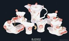art coffee cup set(BJ2002)