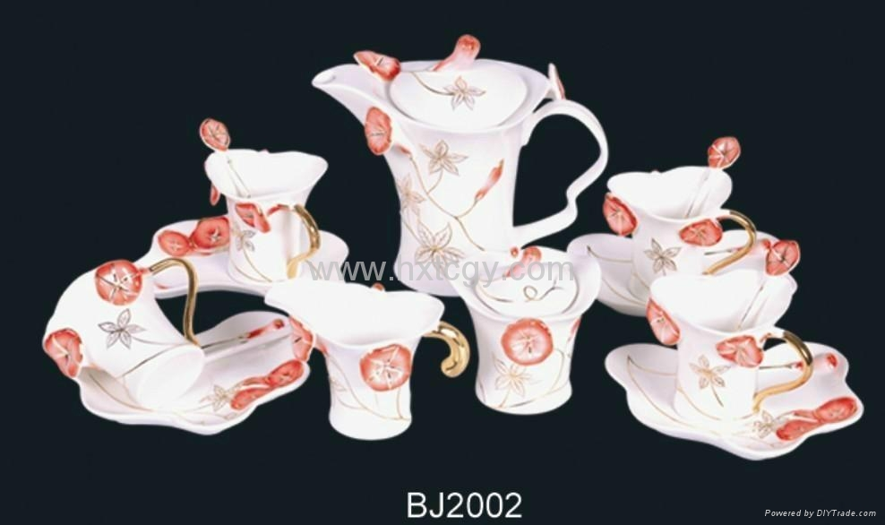 art coffee cup set(BJ2002) 1
