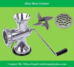 Mini meat grinder