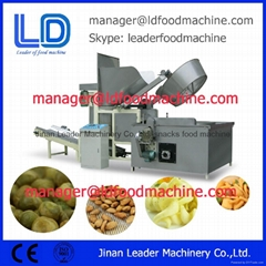 Thermostat Controlled Nut Snack Pellet Automatic Batch Fryer