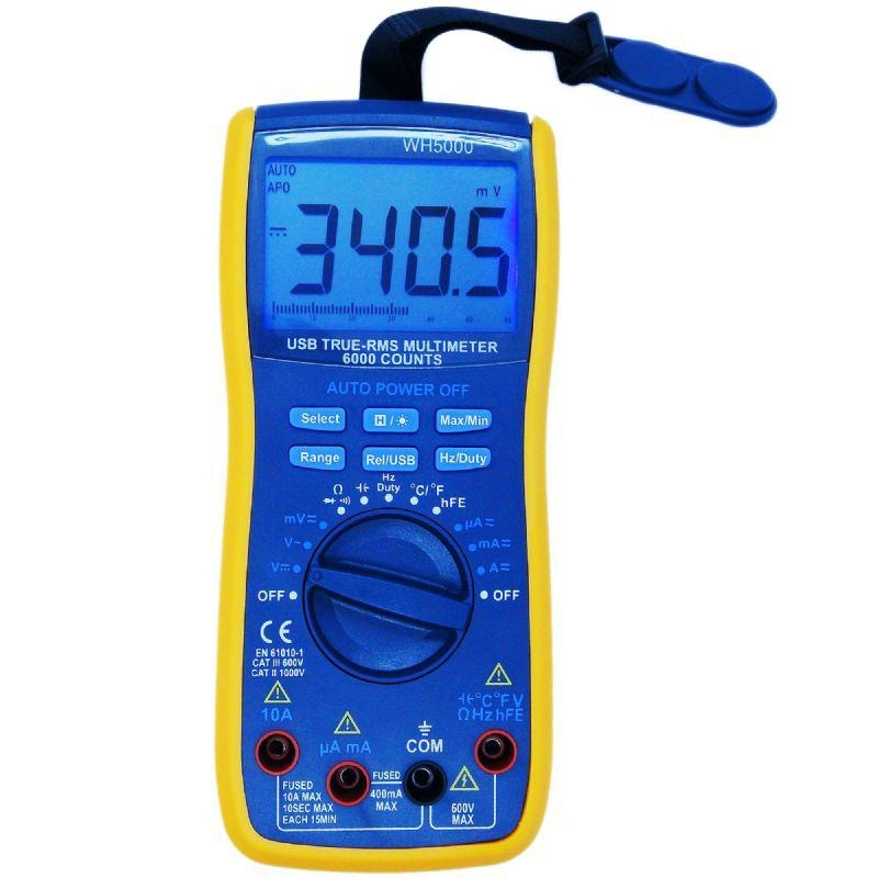 multimeter with usb interface  2
