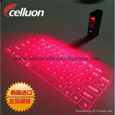 3nd Generation Celluon Magic Cube Laser Projection Virtual Keyboard Bluetooth