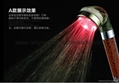 hot selling cool led color changing shower head seven colors changable  5