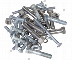 Metal Bolts and Nuts