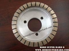 Metal diamond grinding wheel for glass grinding