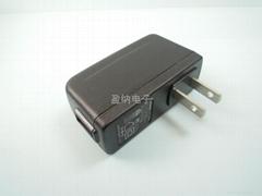 开关电源插墙USB立式