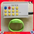Silicon Radio controlled Led flashing glow  bracelet Manufacturer and Supplier 4