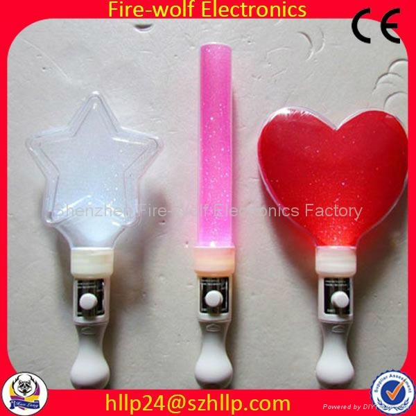 2014 Hot selling  led flashing glow stick China Manufacturer and Supplier  5