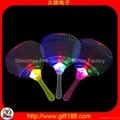 Led light flashing mini fan china led