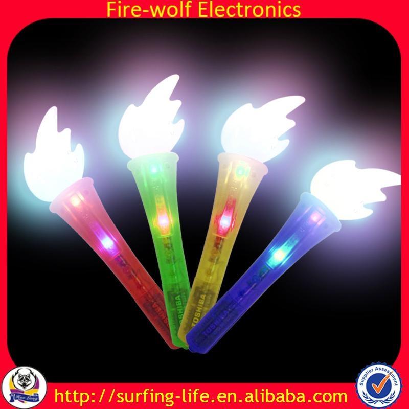Party Gift led flashing stick torch , led foam glow stick China Manufacturer  1